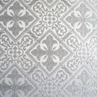 Каменный цветок белый/серебро