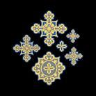 Крест вышивка вид 10