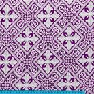 Каменный цветок фиолетовый/серебро