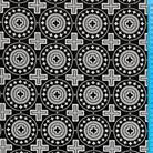 Мирликийский мелкий черный/белый