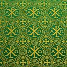 Альфа и омега зеленый/золото