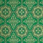 Вологда зеленый/золото
