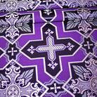 Кустодия фиолетовый/серый